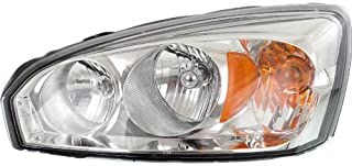 Headlight Headlamp Compatible with 2004-2008 Chevy Malibu Driver Left Side Replacement