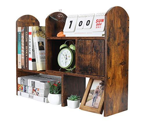 Atlantic Furniture H-80034 Harvard Book Shelf, Antique Walnut, 36-Inch