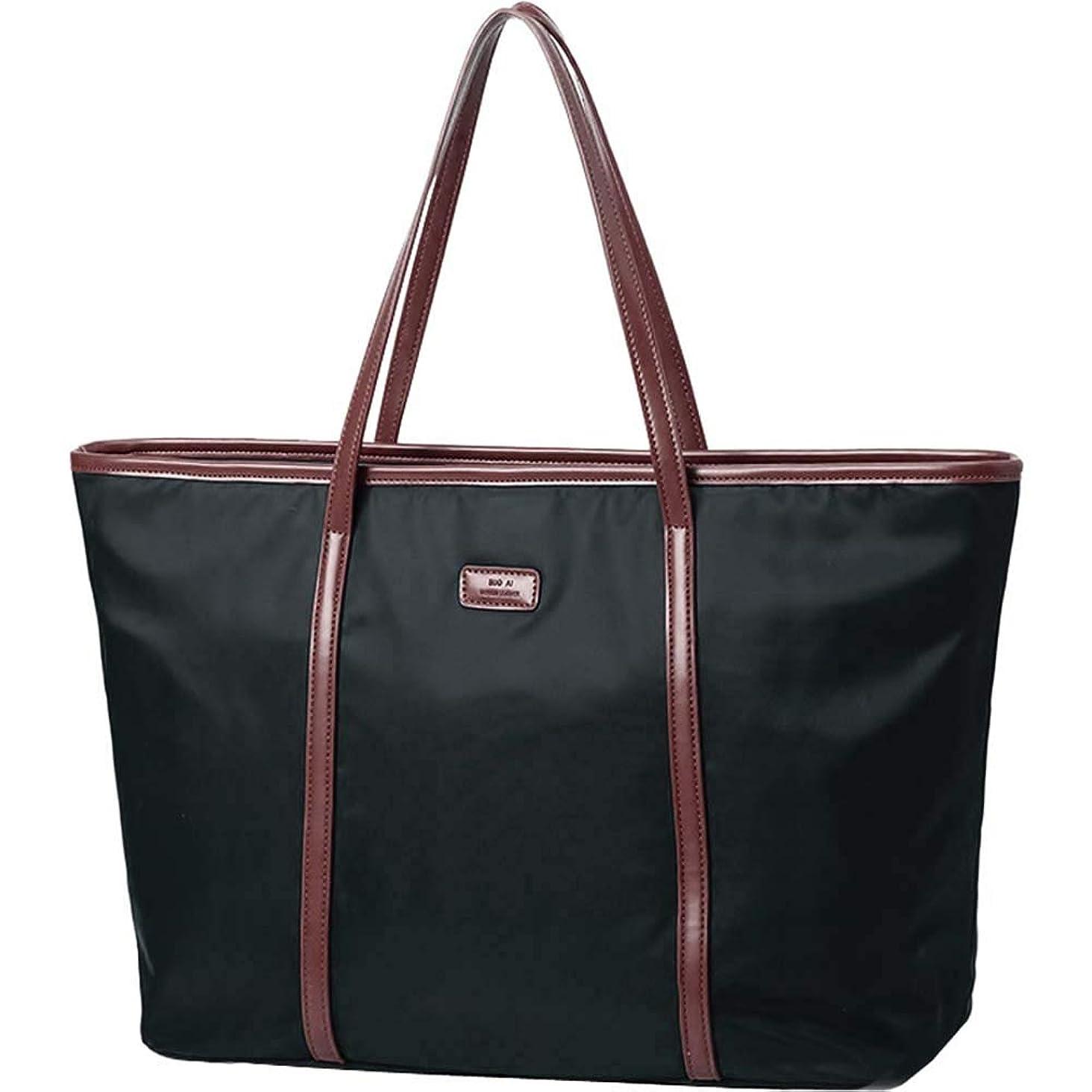 Women's Oxford Nylon Large Capacity Work fit 15.6 inch Laptop Tote Shoulder Bag
