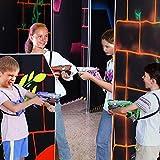 TINOTEEN Pistole Laser Tag Set con Gilet Pistole a Raggi infrarossi Set di 2 Giocatori Verde /& Blu /…