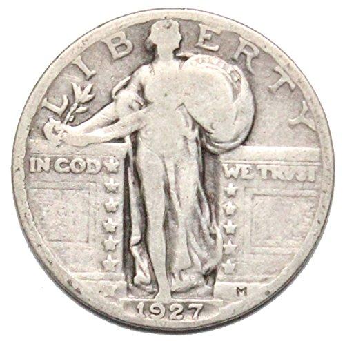 1927 Standing Liberty Quarter Circulated