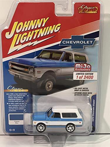 Johnny Lightning 1970 Chevrolet Blazer Custom Blue MiJo 1:64