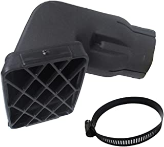 Universal 4x4 Off Load Snorkel Head Air Intake Ram 3 inches Inlet Free Clamp