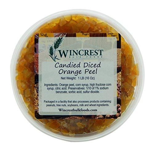 Candied Fruit - 1 Lb Tub (Diced Orange Peel)