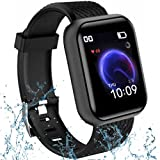 ⭐9 Years Replacement Warranty All Over India 💓 Health and Accurate Fitness Tracker: Enjoy an all new, unique SPORTS mode with the this smartwatch Sync with your phone and it supports sports and record all-day activities like sleep monitor, steps, dis...