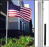 USA Flag with 10ft Flag Pole 3x5 Pole...