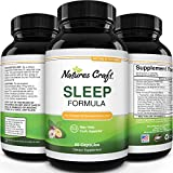 Natural Revitalizing Sleep Formula - End Fatigue - Supports Deep Uninterrupted Sleep - Non Addictive Supplement - Magnesium L-Theanine GABA - Purest Herbal Ingredients