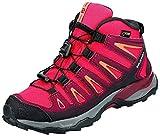 Salomon X-Ultra Mid GTX J, Zapatillas de Senderismo Niños Unisex niño, Rosa (Virtual Pink/Beet Red/Living Coral 000), 33 EU