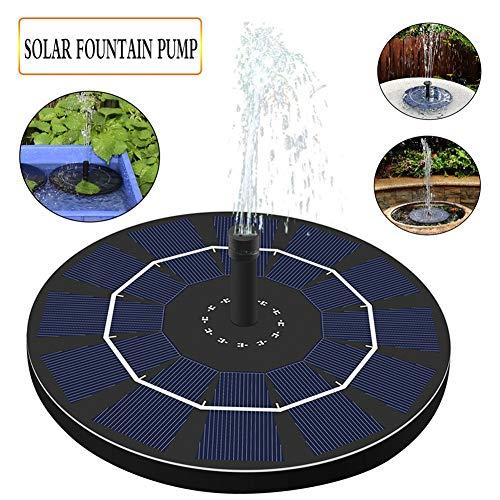 SO Solar Springbrunnen, Solarspeicher Schwimmender Brunnen Solar Teichpumpe Gewidmet Gartenteich Oder Springbrunnen Wasserkreislauf Solarpumpe
