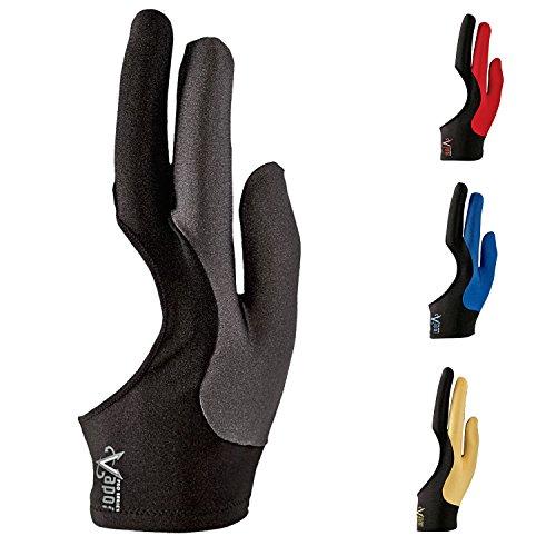 Vapor Cool Sport Billardhandschuhe, grau, Größe M