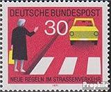 RFA (RFA.Alemania) Michel.-No..: 673I, u De las Naciones Unidas NEuE dañadas (campo 32) 1971 nuevo reglas en carretera (II) (sellos para los coleccionistas) el tráfico por carretera