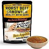 Roast Beef Sandwich Bath Soak – Amber Bath Salts Luxury Bath Funny Girlfriend Gifts for Best...