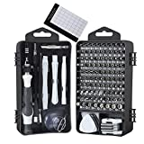 E·Durable Precision Screwdriver Set, 122 in 1 Electronic Tool kit with Case for Eyeglasses Watch iPhone Nintendo Switch Camera Computer Repair Kit