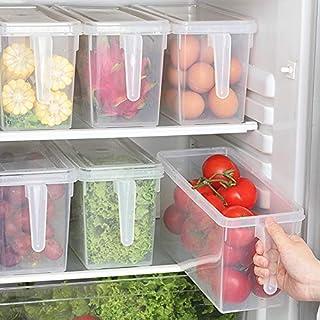 YANGYUE Cuisine en Plastique Alimentaire De Stockage De Légumes Conteneur Organisateur Réfrigérateur Boîte De Rangement Co...
