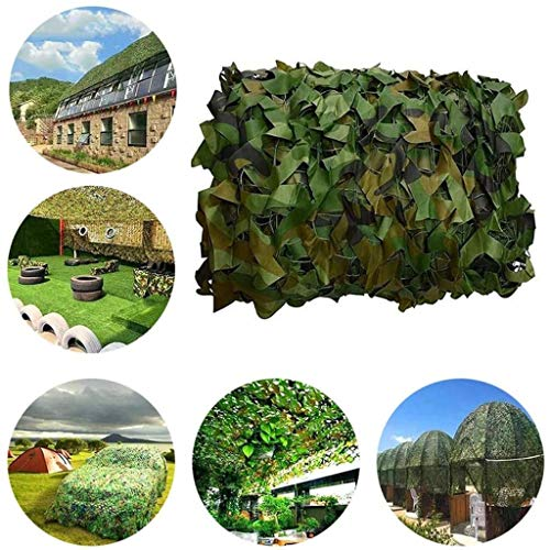 Camo Netting 6x4, Leger Camouflagenetten Lightweight Durable Car Camo Netting Kids Camo Net 150D Oxford Doek For De Jacht Schieten Verbergen Military Tuindecoratie Zonnescherm ( Size : 8*8m(26*26ft) )
