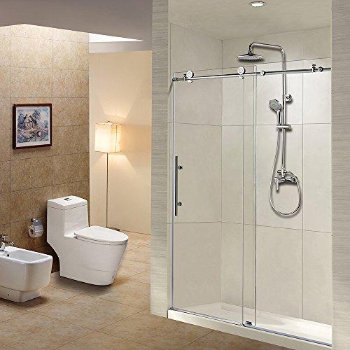 best frameless sliding shower door