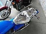 CoolAss Medium Dual Saddle Heat Reflective Waterproof Rain Motorcycle Seat Cover