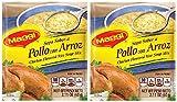MAGGI Sopa Sabor a Pollo con Arroz 2 PACK 60 gr. | Chicken Flavored Rice Soup Mix 2.11 oz each.
