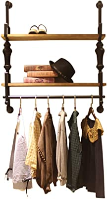 コートラック 衣料品店ディスプレイスタンドウォールハンギングハンガーレトロディスプレイグッズハンガー (サイズ さいず : 120cm*100cm*30cm)