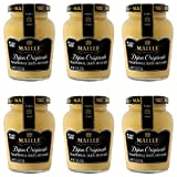 Maille Mustard, Dijon Originale No Added Sulfites, 7.5 Ounce (Pack of 6)