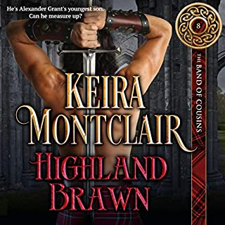Highland Brawn audiobook cover art