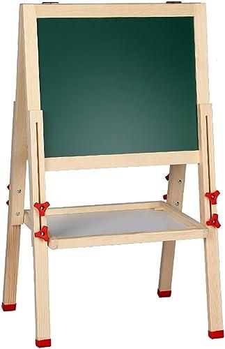 Planche à dessin pour enfants double tableau magnétique double-face planche à dessin de support maison dessin planche à dessin de graffiti chevalet de tableau d'écriture levage ( Taille   40x80cm )