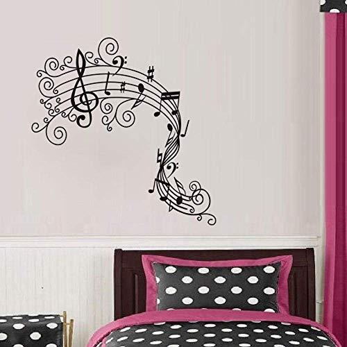Muurstickers voor kinderkamer Home Decor Muzikaal Symbool Art Decals Behang Decoratie