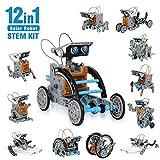 CIRO Kit de Construction de Robots solaires 12 en 1 - 190 pièces à Construire Jouets éducatifs