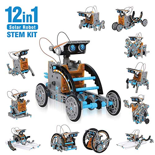 CIRO Kit de Construction de Robots solaires 12 en 1 - 190...
