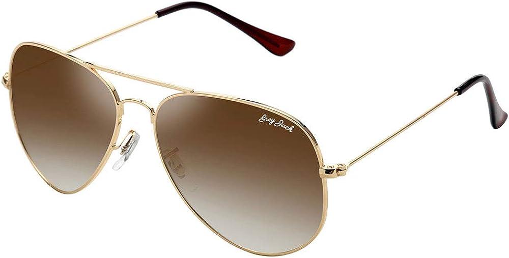 GREY JACK Polarized Classic Sunglasses Aviator Fashionable New product! New type Shaped Lightweigh