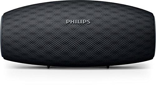 Philips BT6900B EverPlay Bluetooth Lautsprecher (30 M Verbindung, Schnellladeoption, 10 Stunde Akku, 10 W) schwarz
