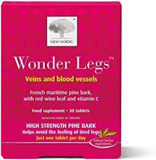New Nordic Manufacturing Wonder Legs Natural Supplement (30 Tablets)