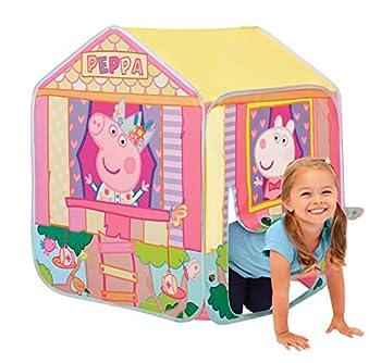 Peppa Pig Kids Tent Pop Up Play Tent Pink