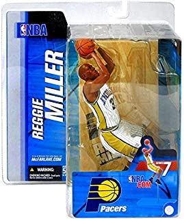 McFarlane Toys NBA Sports Picks Series 7 Action Figure Reggie Miller White Jersey