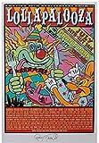 by burning desire Poster Konzert Festival Lollapalooza