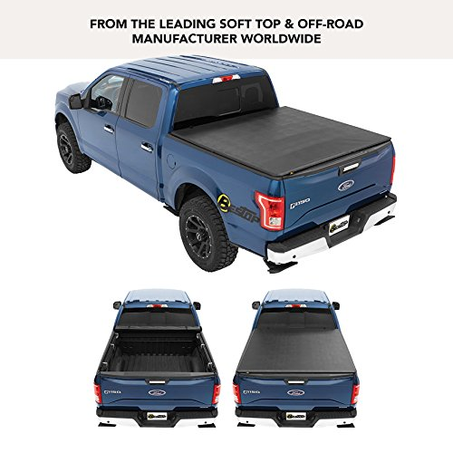 Bestop 1914701 EZ-Roll Soft Tonneau Cover for Nissan 05-18 Frontier, 6.0' Bed