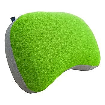 Journext Coussins de Camping gonflables et oreillers de Voyage - Surface Souple, compacte et légère - pour la Plage, Le Voyage et l'extérieur (Green)