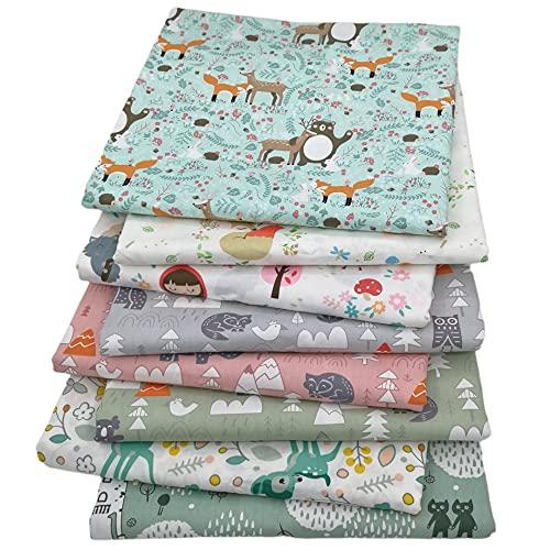 Cotton Cloth, 8 Pieces...