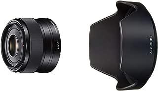 ソニー SONY 単焦点レンズ E 35mm F1.8 OSS ソニー Eマウント用 APS-C専用 SEL35F18 & SONY αレンズ用フード ALC-SH112