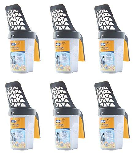 Swirl 6 x Streuschaufel für Körnung 4-6 mm Katzenstreu - Grob - Schaufel - Streuschaufel