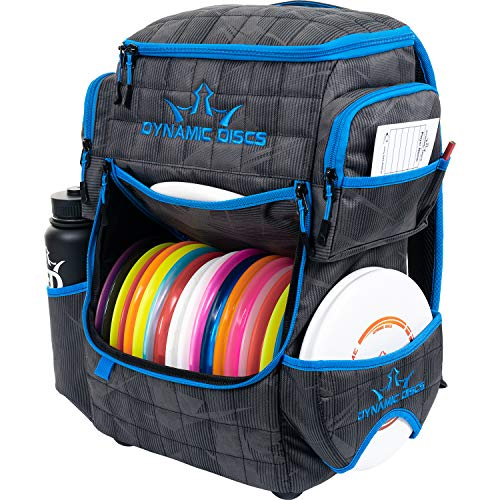 Dynamic Discs Ranger Disc Golf Backpack | Large Main Compartment That Can Hold 18+ Discs | On-Deck Disc Golf Putter Pouch Capable of Holding Two Disc Golf Putters (Nightshade)