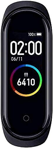 SBA999 VA 250804 M4 Smart Health Band Immunity Activity BP Heart Rate Sleep Tracker Stop Watch For Men Women Boys Girls Messages Alert Android Ios Mobile Smart Phone