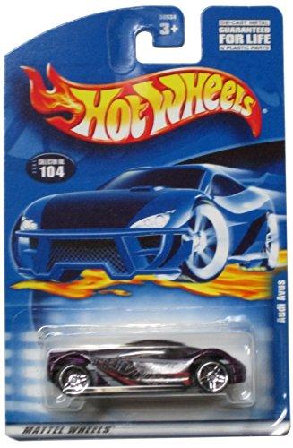 Hot Wheels 2001-104 Audi Avus 1:64 Scale