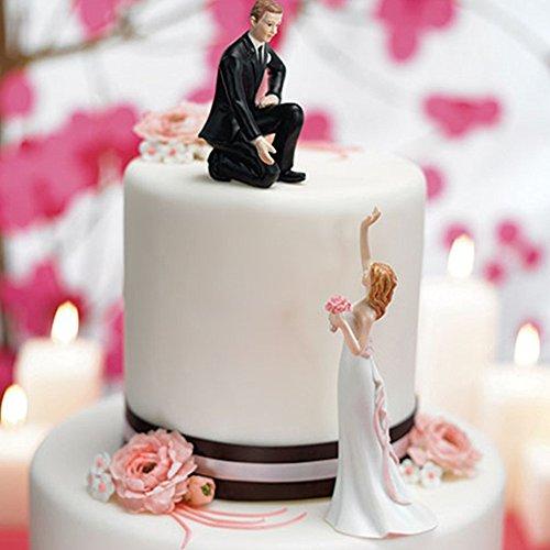Tortenfigur Tortenaufsatz 'Reaching' für Ihre Hochzeitstorte zur Hochzeit - 7095