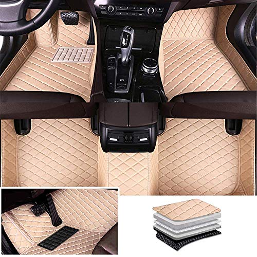 Tuqiang Alfombrillas de coche personalizadas para Bentley Continental GT/Flying Spur, de piel de luj
