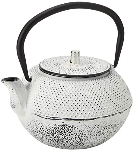 Cosy&Trendy 231051 Shinto Cream theepot, gietijzer, 1,2 l
