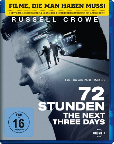 72 Stunden - The Next Three Days [Blu-ray]