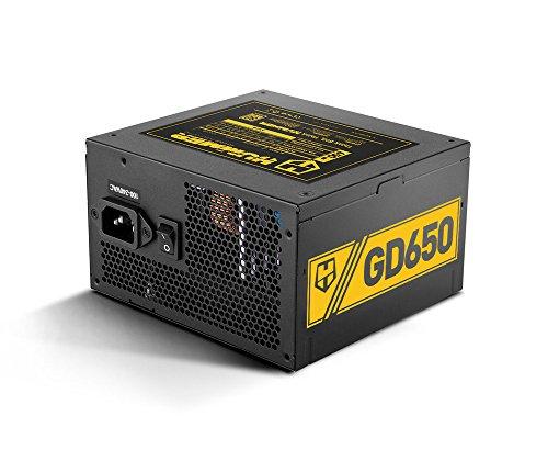 Nox Hummer GD 650 80 Plus Gold - Fuentes de alimentación, color negro