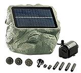 Royal Gardineer Solar Teichpumpe: Solarbetriebene Teichpumpe Biosphere (Solarwasserpumpe)