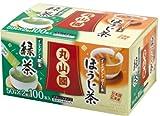丸山園 スティック緑茶ほうじ茶アソート 70g